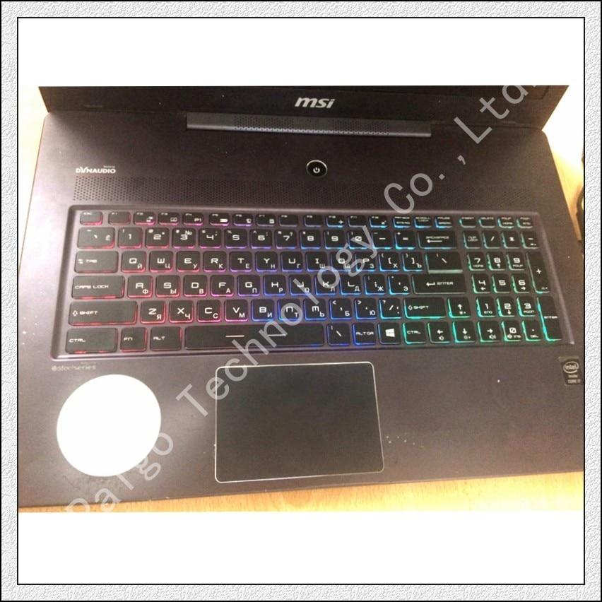 NEW For MSI GT72VR 6RD GT72VR 6RE Dominator keyboard US Color Backlit Crystal