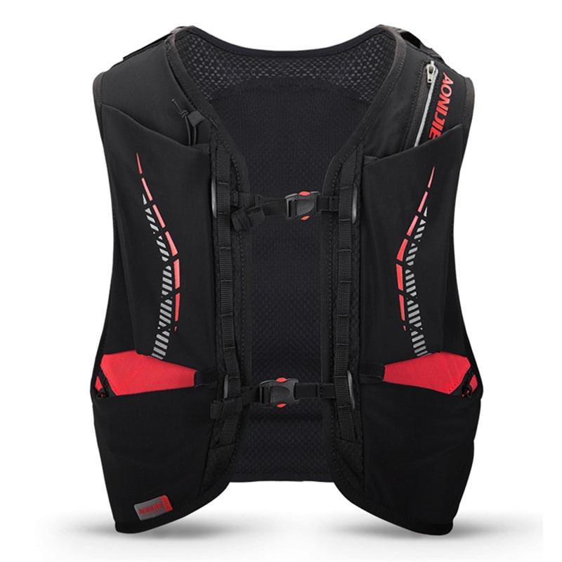 Sac à dos léger d'hydratation 10L sac à dos sac à dos vessie d'eau randonnée course Marathon course cyclisme sac à dos AONIJIE C948 - 4