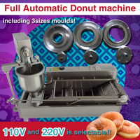500 1200pcs/h Commercial Automatic Donuts Maker Manual Doughnuts Making Machine with 3 sizes moulds counter
