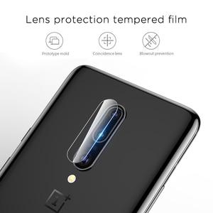 Image 5 - עבור OnePlus 7 אחת בתוספת 7 OnePlus7 זכוכית 9D מלא כיסוי 9D מזג זכוכית + חזרה מצלמה עדשת סרט מסך מגן 1 + 7 1 Plus7