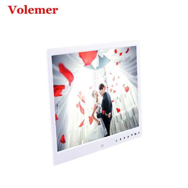 Best Offers Volemer new Digital Frame 13 inch high definition Touch button electronic photo album video advertising machine digital brochure