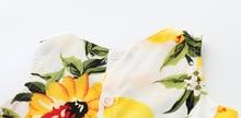 Sleeveless Lemon Baby Girl Dress