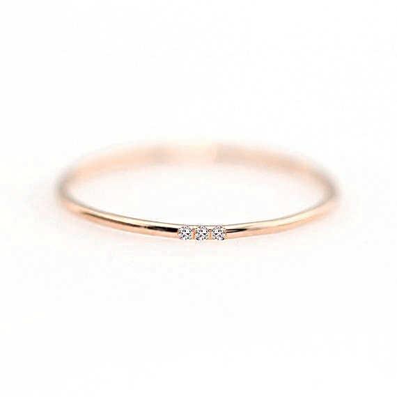 ZHOUYANG Ringe Für Frauen Micro-einsätze Zirkonia Dünne Finger Ring Modeschmuck Ring KCR101