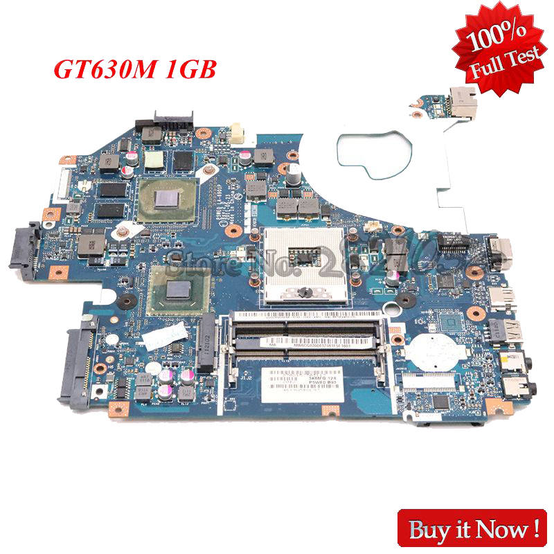NOKOTION Laptop <font><b>Motherboard</b></font> for <font><b>Acer</b></font> <font><b>aspire</b></font> 5750 <font><b>5750G</b></font> Mainboard HM65 DDR3 GT630M 1GB P5WE0 LA-6901P MB.BYX02.001 MBBYX02001 image
