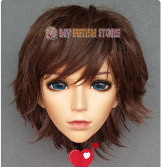 Useful xiaoyao1 gurglelove Female Sweet Girl Resin Half Head Kigurumi Bjd Mask Cosplay Japanese Anime Role Lolita Mask Crossdress Doll High Resilience