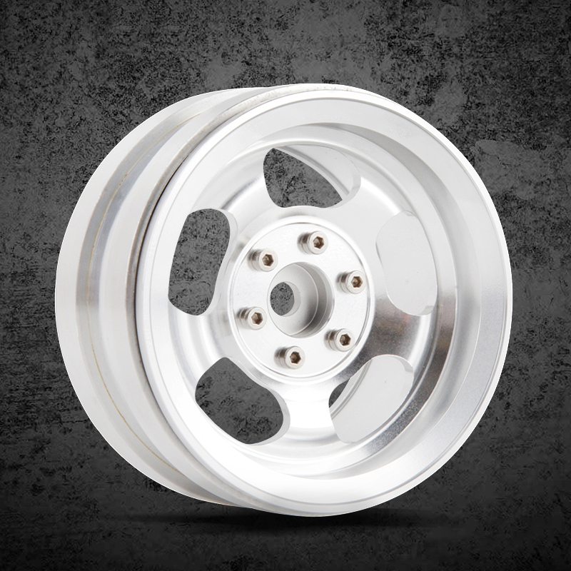 4pcs High quality metal 2.2inch wheels Hub for 1/10 RC Crawler Car Traxxas TRX4 Ford Bronco D90 D110 Axial Scx10 90046 RC4WD
