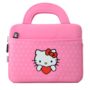 Soft handbag iPad mini portable case zipper hello kitty crazy bird mickey mouse cute cartoon pattern Zoey 8 inch ipadmini - AGui's store