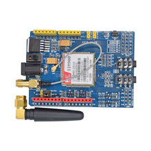 Free shipping 1PCS/LOT SIM900 GPRS/GSM Shield Development Board Quad-Band Module High Quality