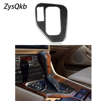 Carbon Fiber Gear Shift Shifter Frame Cover Overlay For BMW E39 LHD