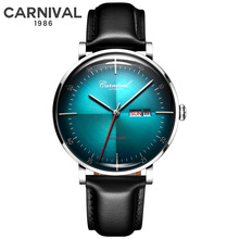 CARNIVAL Mens Automatic Mechanical Watches Top Brand Luxury