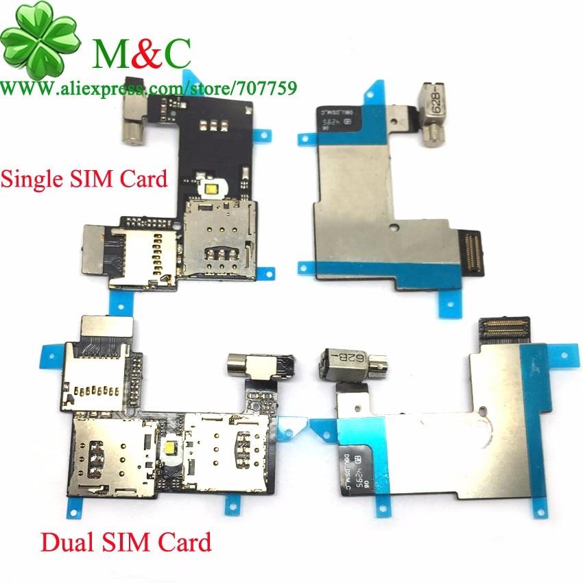 10pcs Original For Moto G2 Sim Card Holder Slot For Motorola Moto G2 XT1068 XT1069 2nd Sim Card Memory Flex Cable <