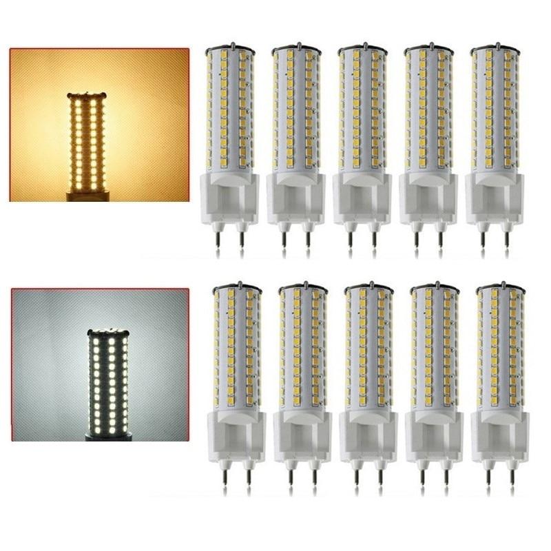 10 pcs G12 Socket 12W 81LEDs 360 Degree SMD2835 Warm White/Cool White LED Corn Light Lamp Bulb G12 LED Free Shipping