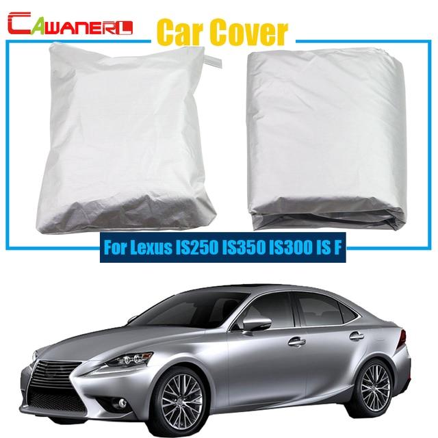Cawanerl Car Cover Anti Uv Rain Snow Sun Resistant Protector Cover