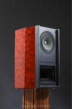 TUOLIHAO Q10 full-range Hifi bookshelf speaker Magnetic steel HIFI EXQUIS  Labyrinth cabinet design