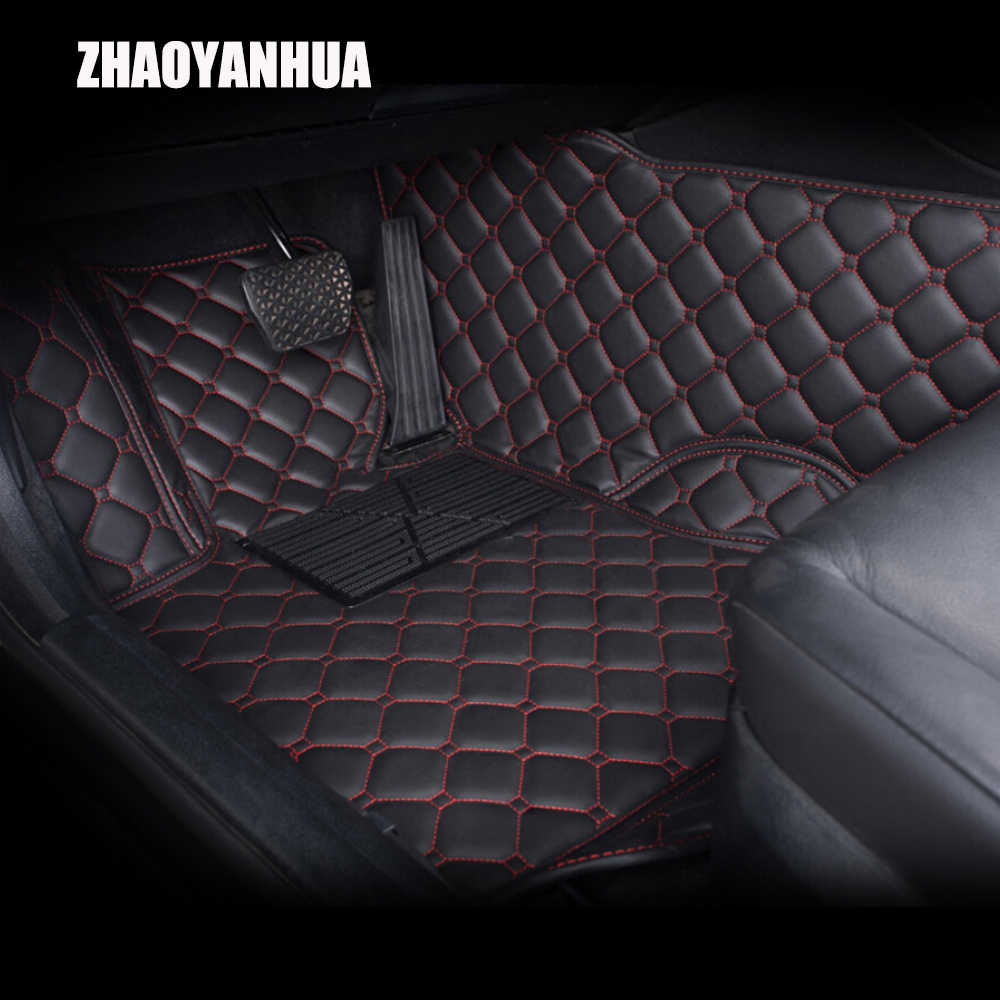"""ZHAOYANHUA car floor mats for Mercedes Benz W203 S203 CL203 W204 S204 C204 W205 S205 C class C180 C200 C300 car styling liners"