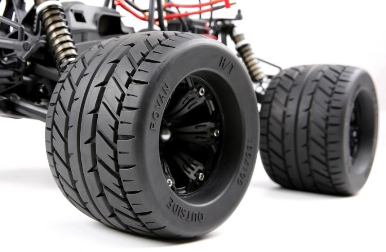 Rovan Monster Brushless Truck Road Wheel And Tyre Road Fit 1 8 Savage Xl Flux 4 6 5 9 Rc Car