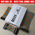 Latest Riff Box - Best Jtag For HTC,SAMSUNG,Huawei Unlock&Flash&Repair With 2 pcs flat cables All 5+ Feedback+ Fast shipping