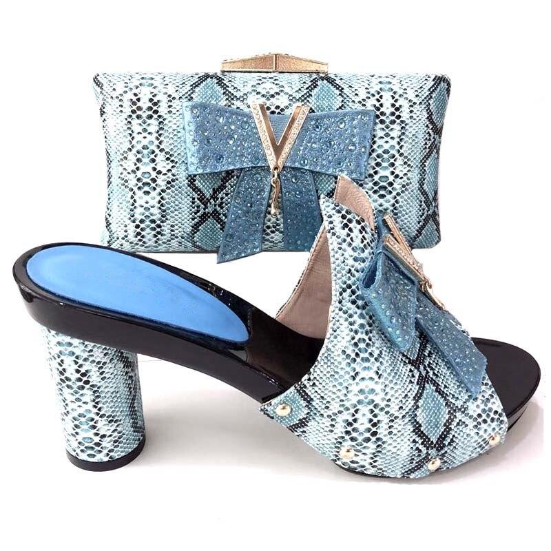 Frauen Neueste Schuhe Taschen 5 4 6 Set Und Passenden Tasche Verziert 1 Farbe In 2 Italienischen Damen Italienische 7 Afrikanischen Rot Mit Bowknot 3 rOxwaqIr
