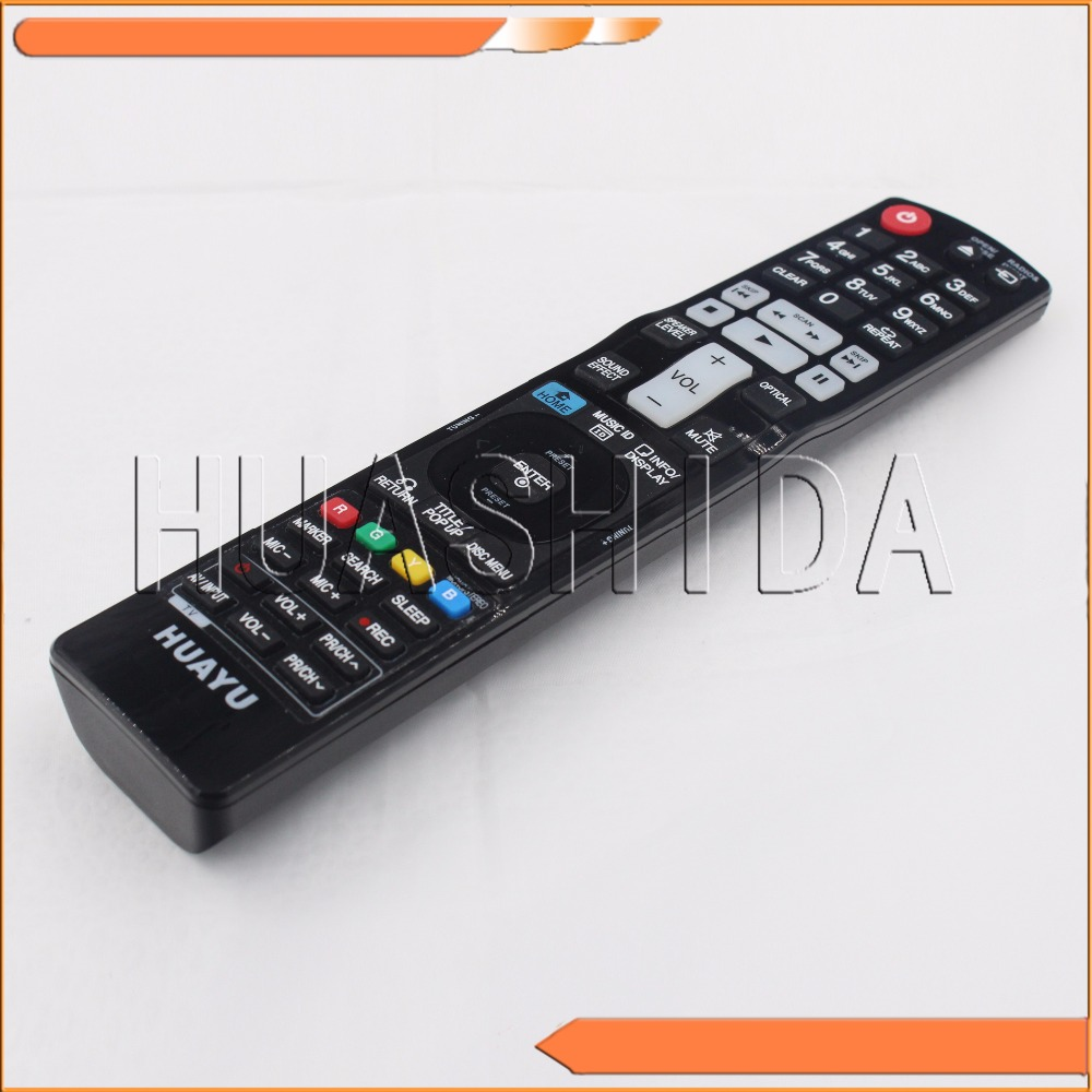 FOR LG AKB73275506 <font><b>BLU-RAY</b></font> <font><b>DISC</b></font> <font><b>HOME</b></font> THEATER REMOTE CONTROL