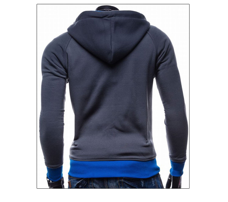 17 Hoodies Men Sudaderas Hombre Hip Hop Mens Brand Leisure Zipper Jacket Hoodie Sweatshirt Slim Fit Men Hoody XXL 12