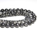 AAA+ Black Spectrolite Natural Stone Beads For Jewelry Making Labradorite Stone DIY Bracelet Necklace 4mm 6mm 8mm 10mm 12mm 16''