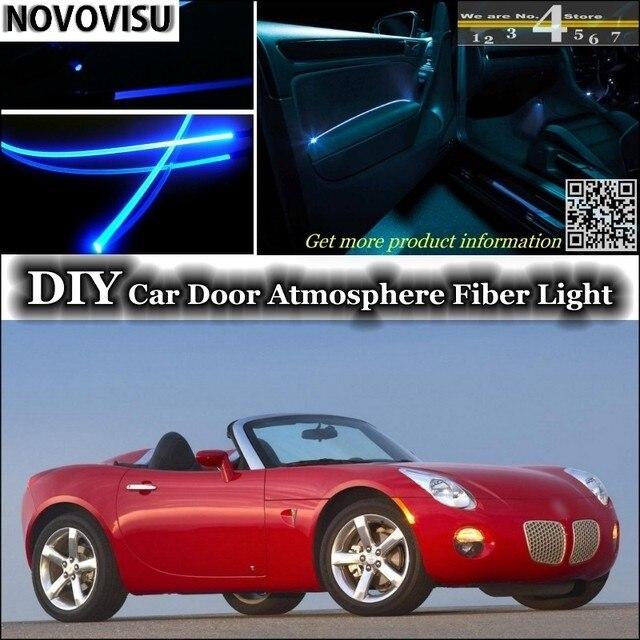 novovisu for pontiac solstice 20052010 interior ambient light atmosphere fiber optic band lights inside