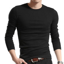 Men Fashion Long Sleeve Tshirts Homme Fitness Tops & Tees