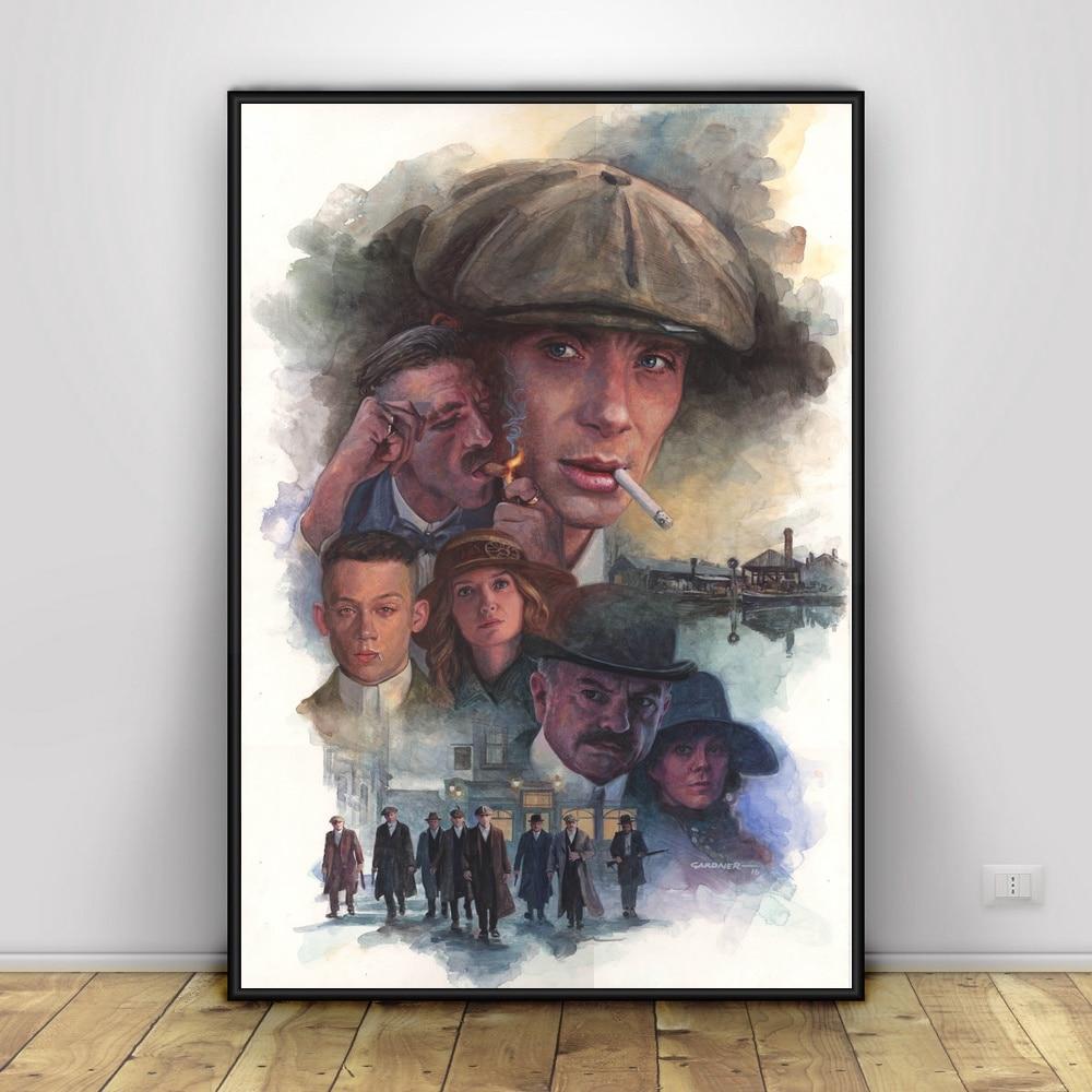 Peaky Blinders Art Silk Poster 12x18 24x36