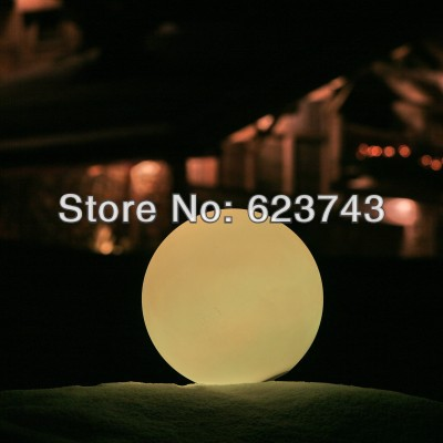 Беспроводной зарядки многоцветные Dia15cm ВОДИТЬ Мяч настольная лампа водонепроницаемый, перезаряжаемый СВЕТОДИОДНЫЙ шар ночник яйцо Рождес…