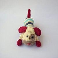 crochet Doggies dog Crochet toy doll rattle