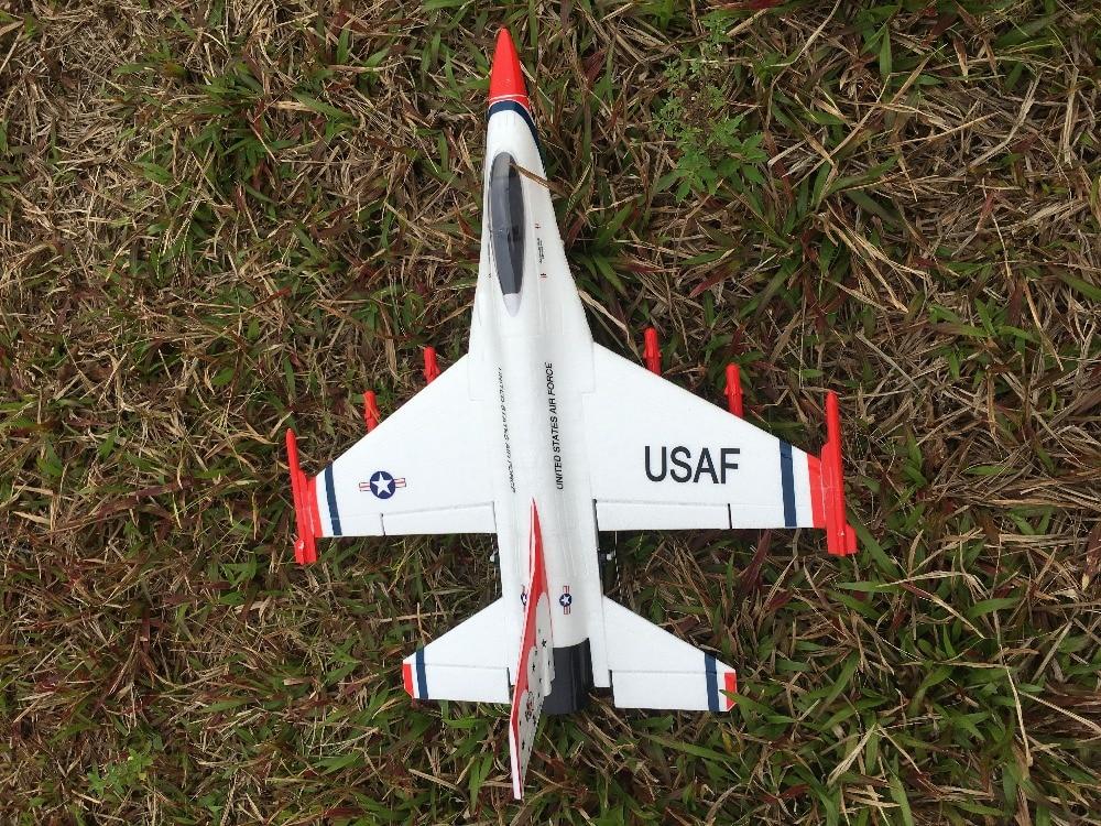RC EDF jet plane F16 50mm