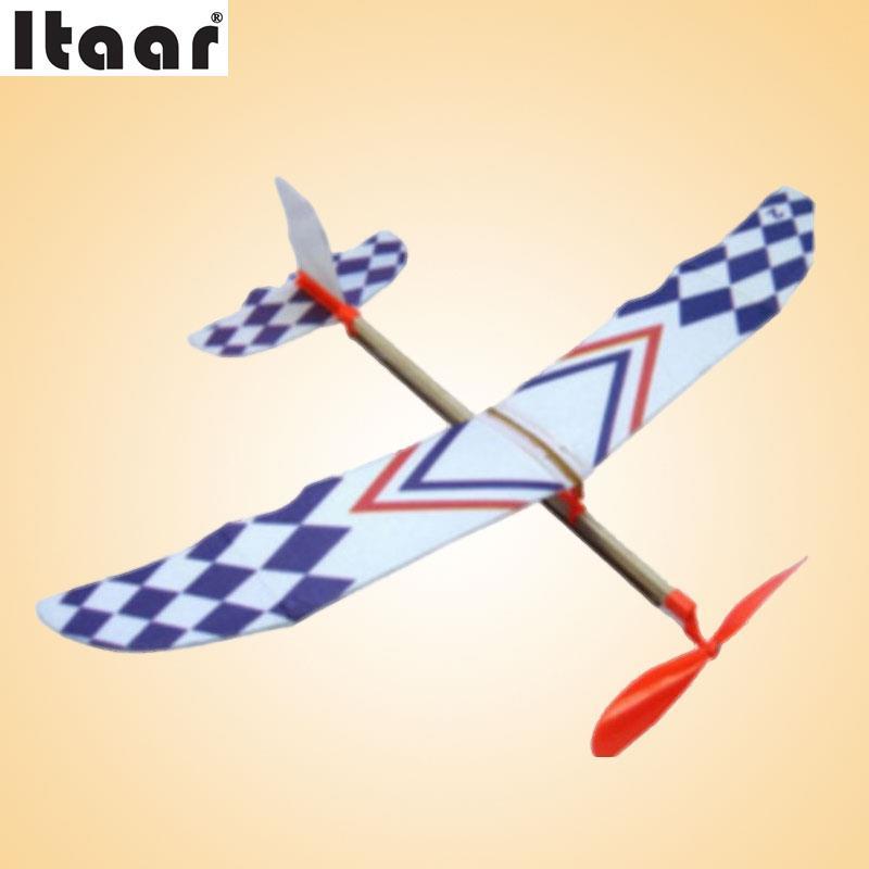 Flying Glider Planes Aeroplane Toys Rubber Band Development Childrens Gift