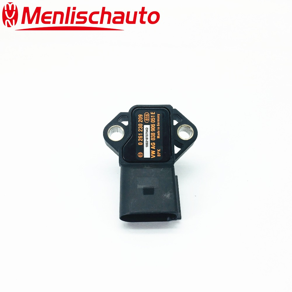 0261230208 INTAKE MANIFOLD PRESSURE SENSOR MAP 0261230209 VAG 038906051E in Pressure Sensor from Automobiles Motorcycles