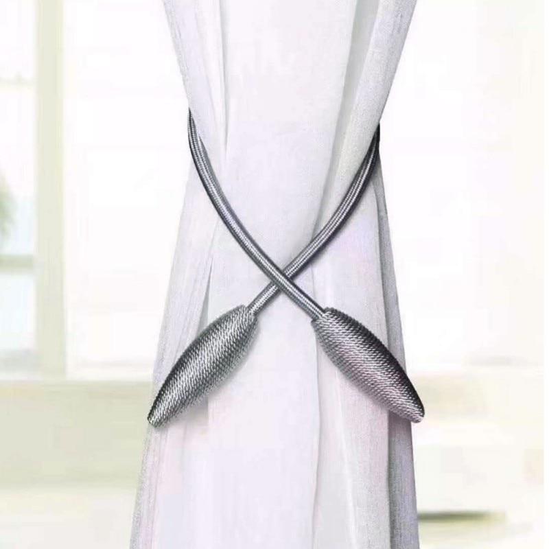 Crystal Ball Windows Curtain Tieback Holdback Large Tie Backs Tassel Rope  TPD