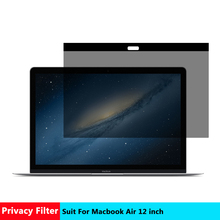 AIBOULLY Magnetic Privacy filter Screens Protective film for New Macbook 12 inch For Apple