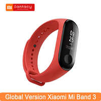 Globale Version Xiao mi mi Band 3 0,78 Große OLED Touchscreen Smart-Band Fitness Tracker mi band 3 bunte Smart Armband Armband