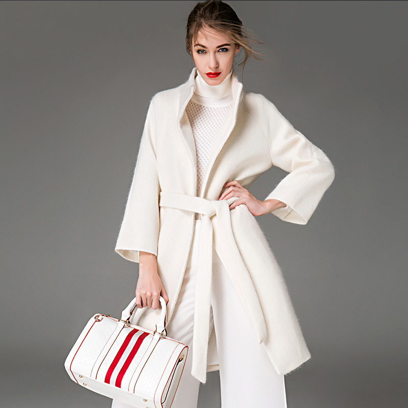 Popular Winter White Cashmere Coat-Buy Cheap Winter White Cashmere ...