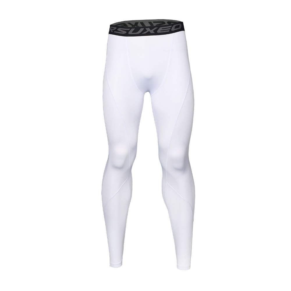 ARSUXEO Men Sport Compression Tights Base Layer Running Tights Pants Run Fitness GYM Workout Active Training Exercise Pants K3