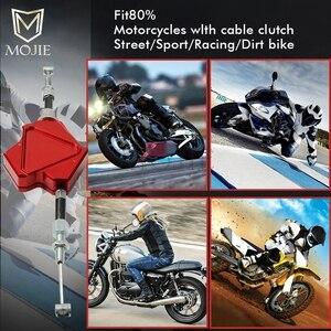 Image 4 - オートバイ Cnc アルミスタントクラッチレバー容易ケーブルシステムホンダ CRF 150 230 250 450 1000 R RX × F L M ラリー L