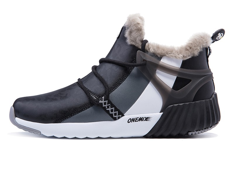 ONEMIX New Winter Running Shoes for women Comfortable Women's boots Warm Wool Sneakers Outdoor Unisex Athletic Sport Shoes women 24