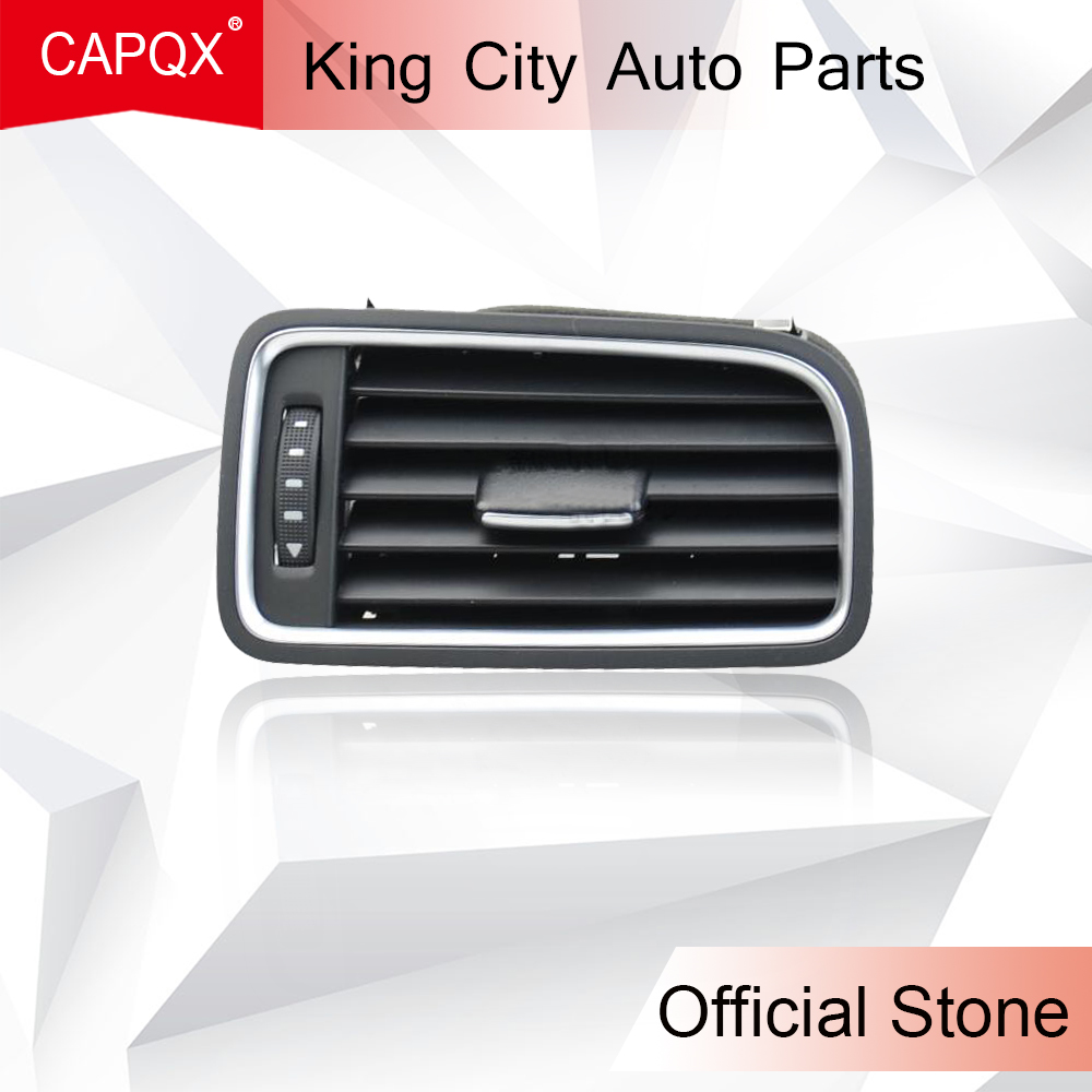CAPQX Air Condition Vent Outlet For VW Sagitar  Jetta 6 2011 Car Instrument Panel Fresh Air Outlet Vent Grille Frame Cover Right