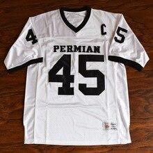 MM MASMIG Boobie Miles  45 Permian Football Jersey Stitched White - Friday  Night Lights( b0221524e