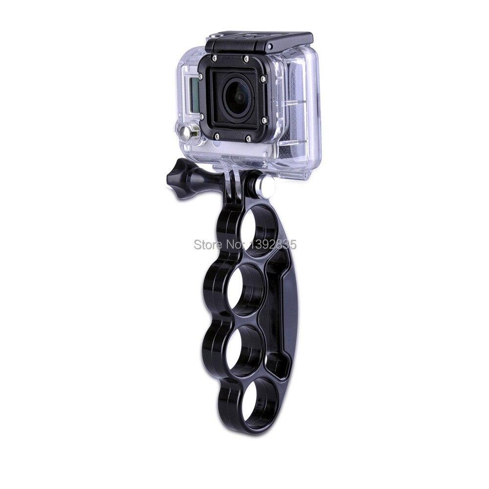 רק עכשיו Go Pro כף יד אצבעות האצבע אחיזה הר עם בורג אגודל לgopro Hero 4/3+/3/2/SJ4000/SJ5000/שיאו יי המצלמה