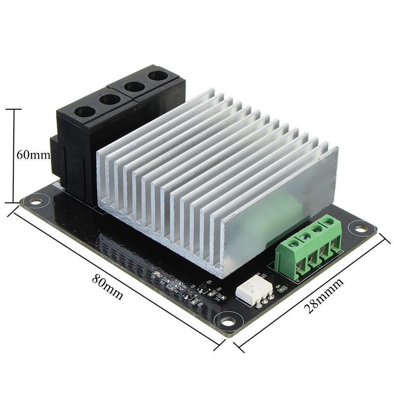 3D Printer Parts Heating controller MKS MOSFET For Heat Extruder Bed MOS Module 30A support Big