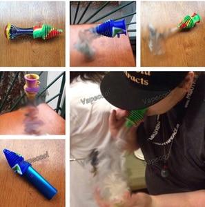Image 4 - סיליקון פה שלום לעישון צינורות זכוכית צינורות רב תכליתי מחלה מניעה