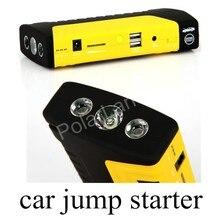 Бесплатная доставка Супер Емкость 10000 мАч Автомобилей Перейти Начинающих Автомобилей Аварийного Батарея Для Бензиновых Автомобилей Dual USB Порт Power Bank
