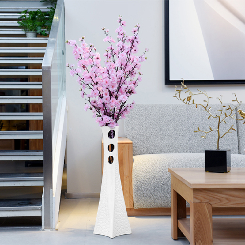 Aliexpress Com Buy 1 Hot New Artificial Flowers Home Decor Simulation Sakura Flower Arrangement Home Decor