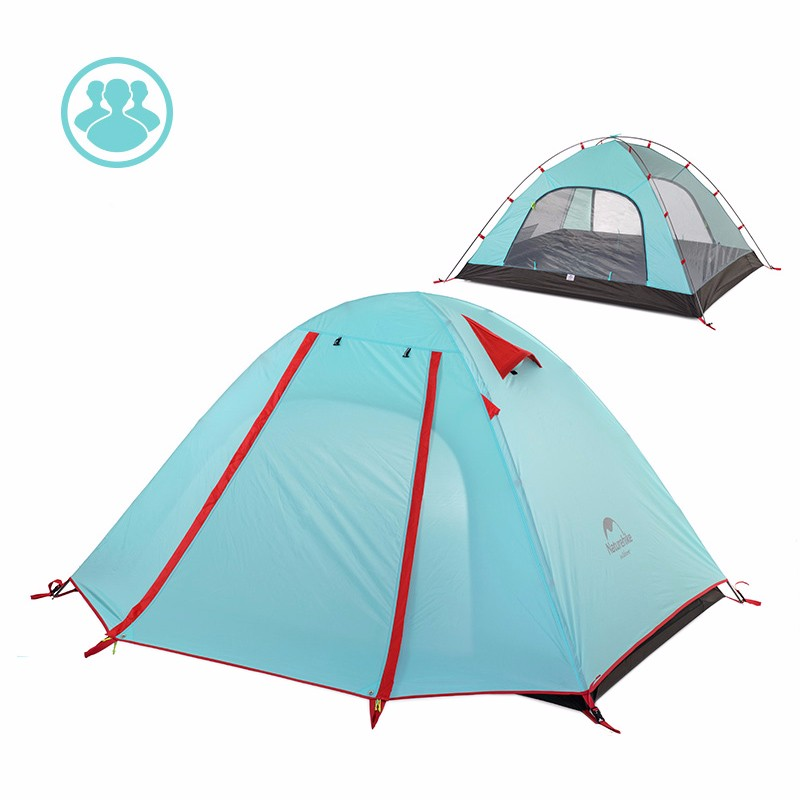 Light Waterproof Camping Tent with Mat
