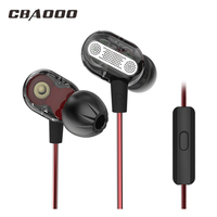 Earphone Earbuds Noise Isolating Headphone Headset With Mic For All Smartphone