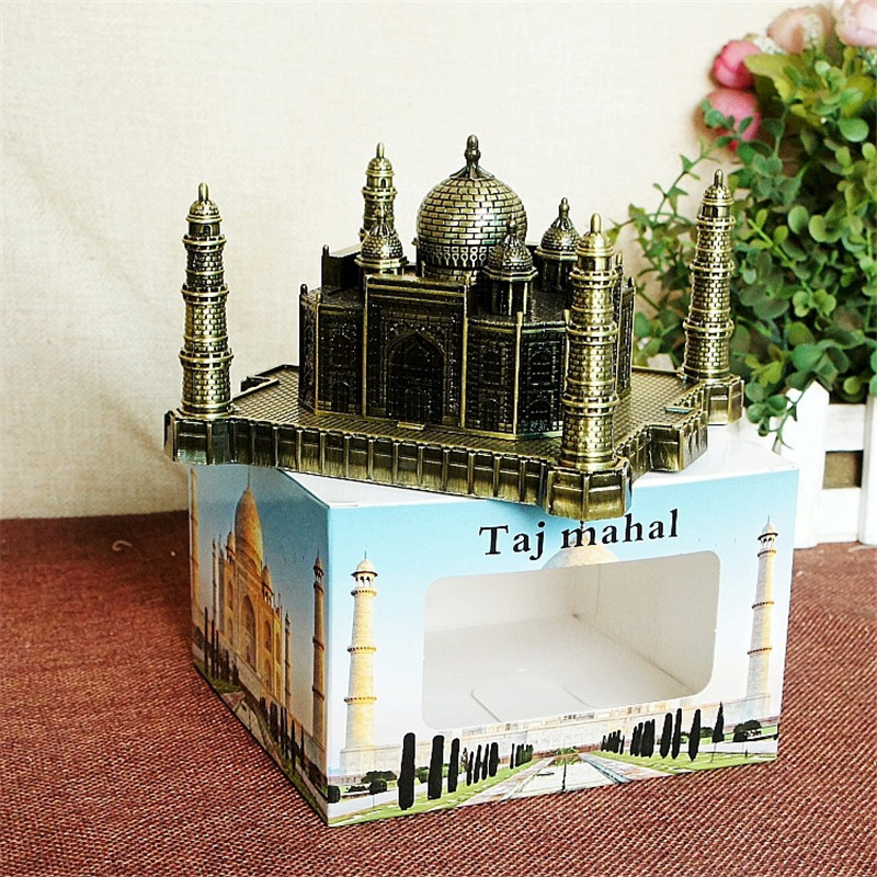 India Taj Mahal Decoratie Metal Crafts World Landmark Gebouw - Huisdecoratie - Foto 2